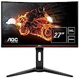 AOC Gaming C27G1 68,6 cm (27 Zoll) Curved Monitor (FHD, HDMI, 1ms, DisplayPort, 144 Hz, 1920 x 1080...