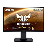 ASUS TUF Gaming VG24VQ 60 cm (23,6 Zoll) Curved Monitor (Full HD, 144Hz, 1ms Reaktionszeit,...