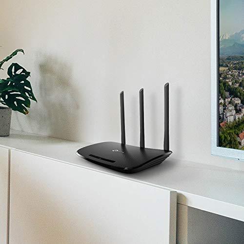 TP-Link TL-WR940N N450 WLAN Router (für Anschluss an Kabel-/ DSL-/ Glasfaser-Modem, 450 Mbit/s (2,4...
