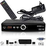 hd-line Echosat 20900 M Digital Satelliten Sat Receiver - (HDTV, DVB-S/S2, HDMI, SCART, 2X USB 2.0,...
