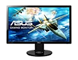 ASUS VG248QE 61 cm (24 Zoll) Gaming Monitor (Full HD, DVI, HDMI, DisplayPort, 1ms Reaktionszeit)...