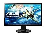 ASUS VG248QE 61 cm (24 Zoll) Gaming Monitor (Full HD, DVI, HDMI, DisplayPort, 1ms Reaktionszeit)...