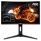 AOC Gaming C24G1 - 24 Zoll FHD Curved Monitor, 144 Hz, 1ms, FreeSync Premium, HDMI, DisplayPort)...