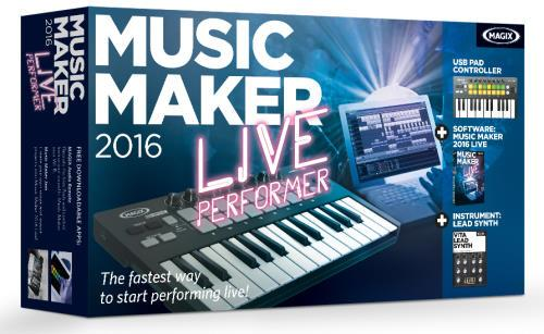 MAGIX Music Maker 2016 Live Performer