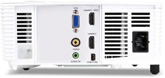 Acer H6517BD 3D Full HD DLP-Projektor Stecker und Anschlüsse