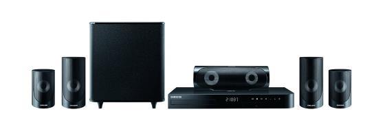 Samsung HT-J5500 5.1 3D Blu-ray Heimkinosystem