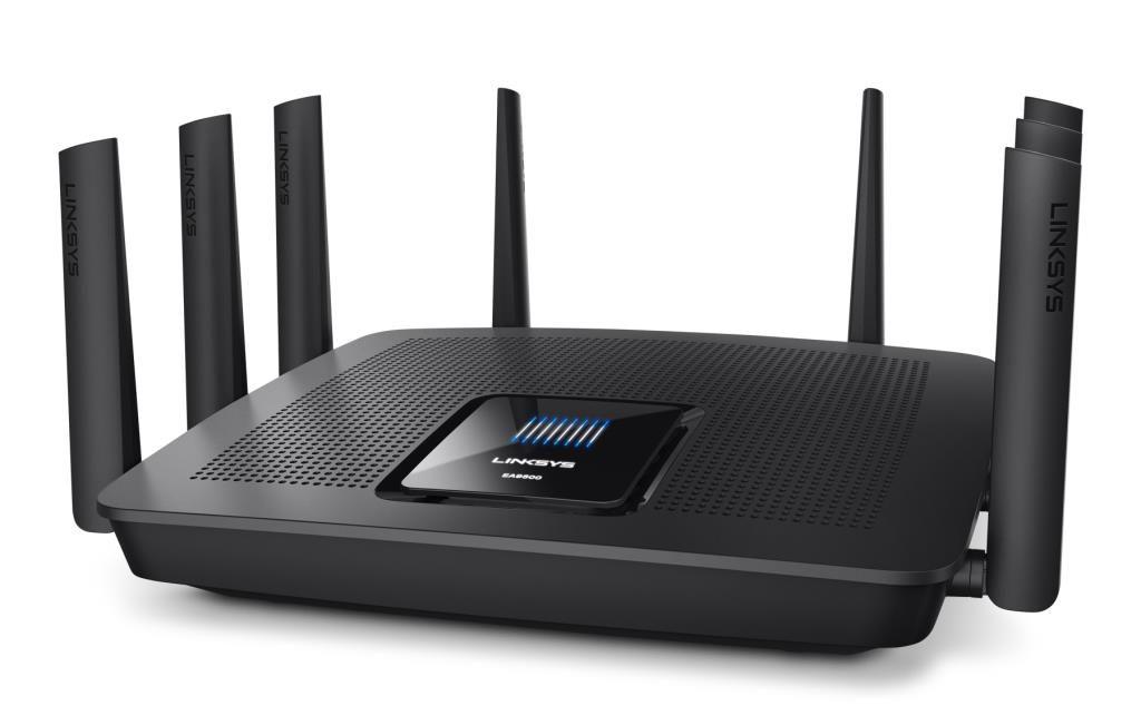 Linksys MAX-STREAM AC5400 Tri-Band Wi-Fi Router mit MU-MIMO (EA9500)