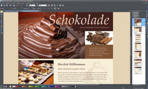 MAGIX Web Designer Classic Screenshot