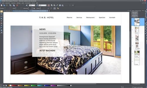 Screenshot MAGIX Web Designer Premium