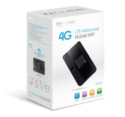 TP-Link M7350 mobiler 4G/LTE MiFi Dualband-WLAN-Router