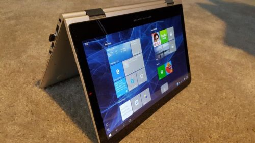 Windows 10 auf Tablet