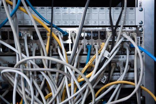 Datenvernetzung Netzwerk
