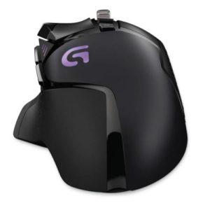 Logitech G502 Proteus Spectrum RGB Tunable Gaming Maus Oberseite