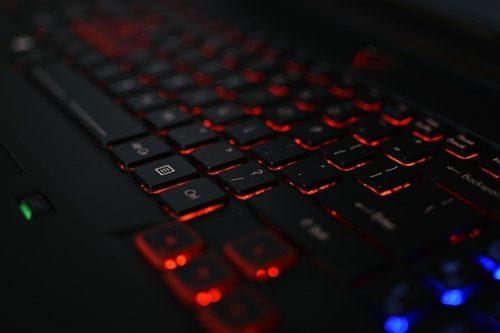beleuchtete Gaming Tastatur