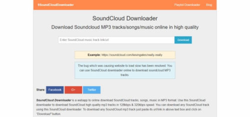 9SoundCloud Downloader