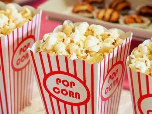 Popcorn wie im Kino in der Tüte