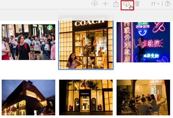iPhone gelöschte Fotos aus iCloud wiederherstellen