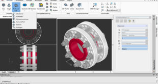 CorelCAD 2019 für Windows Screenshot