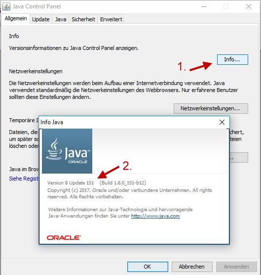 Welche Java Version habe ich auf dem PC installiert?