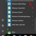 Windows Defender aktivieren oder deaktivieren Startmenü öffnen