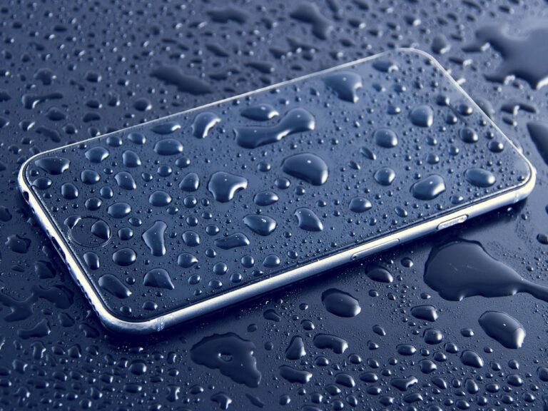 Wasserschaden am Smartphone