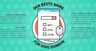 Domain für die eigene Homepage