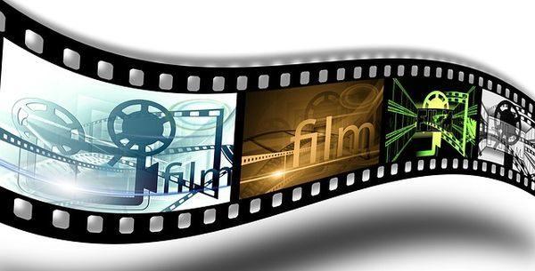 Heimkino Filmstreifen Grafik