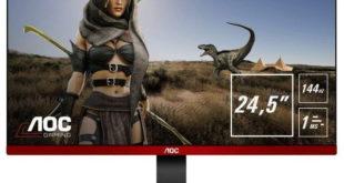 AOC 144Hz Monitor G2590PX 62 cm 24,5 Zoll