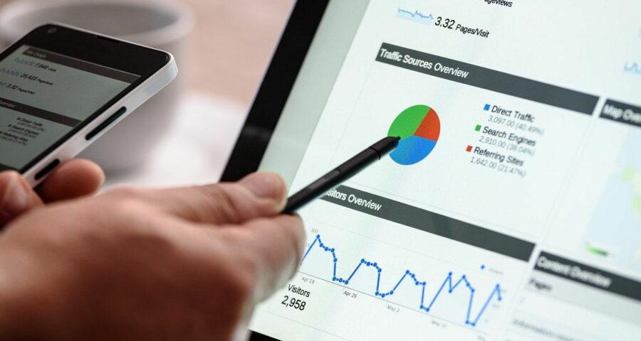 Zahl der Besucher auf der Webseite analysieren