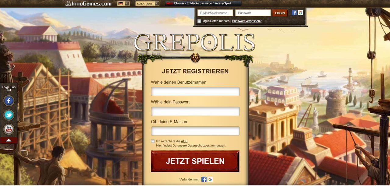 Grepolis von InnoGames